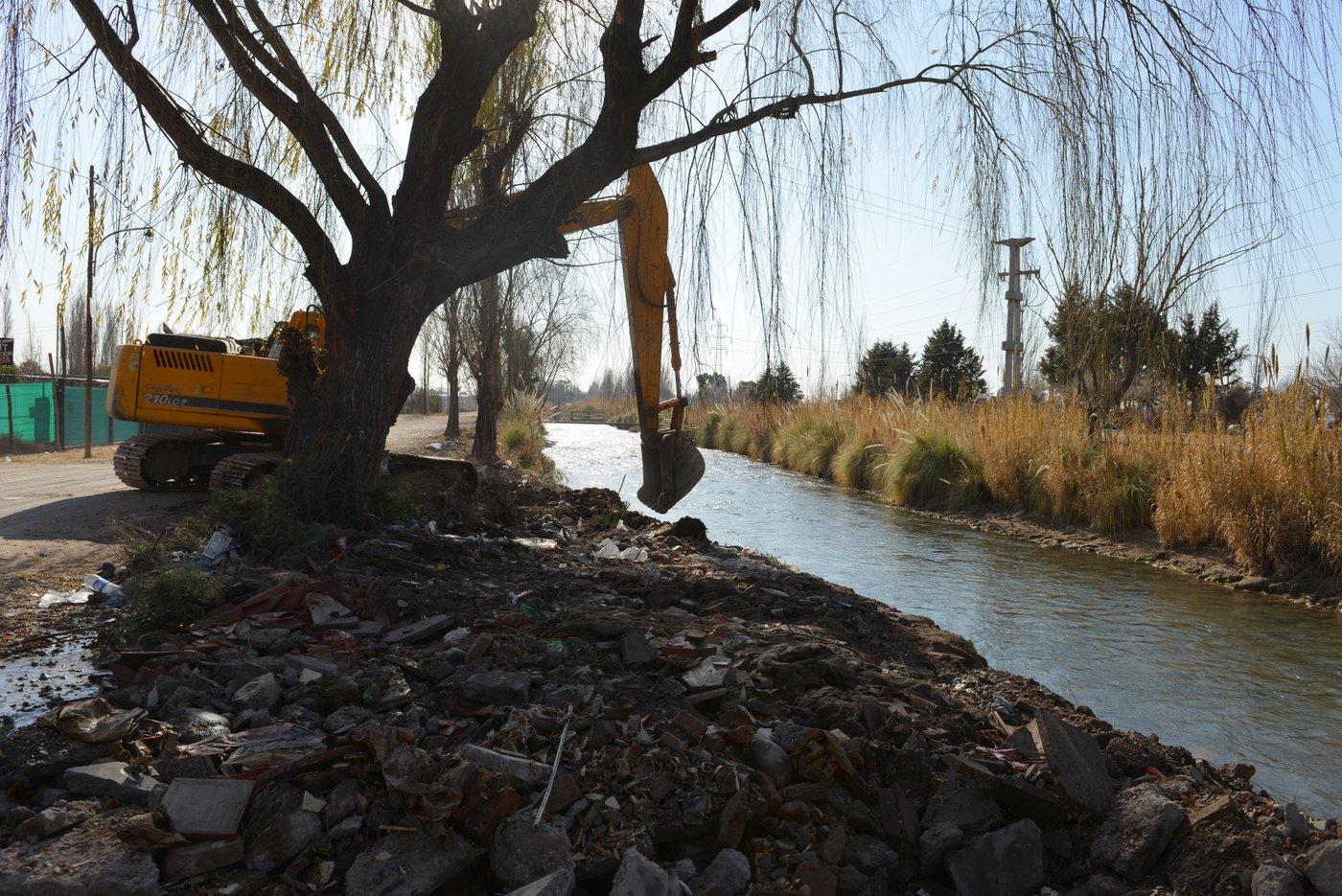 Irrigación realizará la limpieza del canal Primero Vistalba