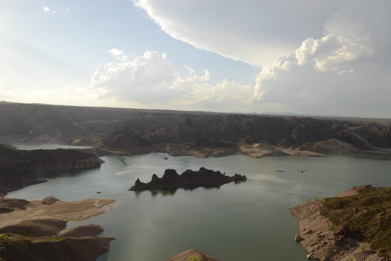 Los embalses Nihuil y Valle Grande están en un 27% del nivel de su capacidad