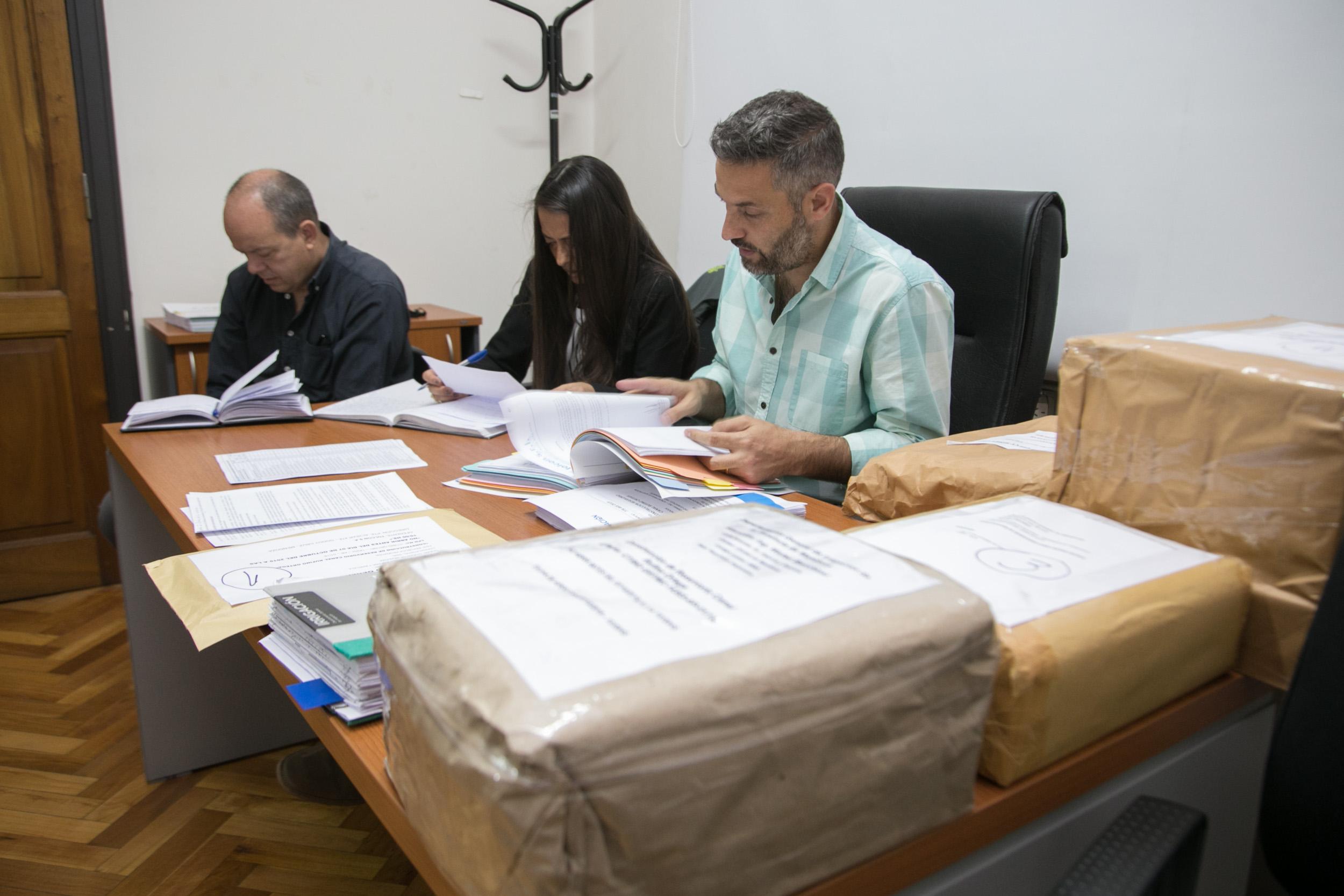 Se conocieron los oferentes para la construcción del reservorio canal Ortega, en Maipú