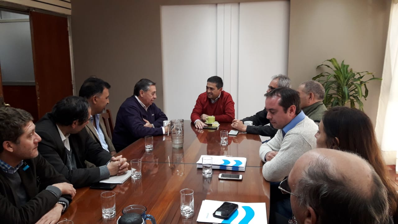 Irrigación firmó un convenio con la Municipalidad de General Alvear