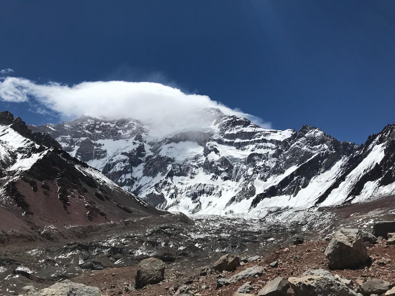 Sin acumulación de nieve en alta montaña