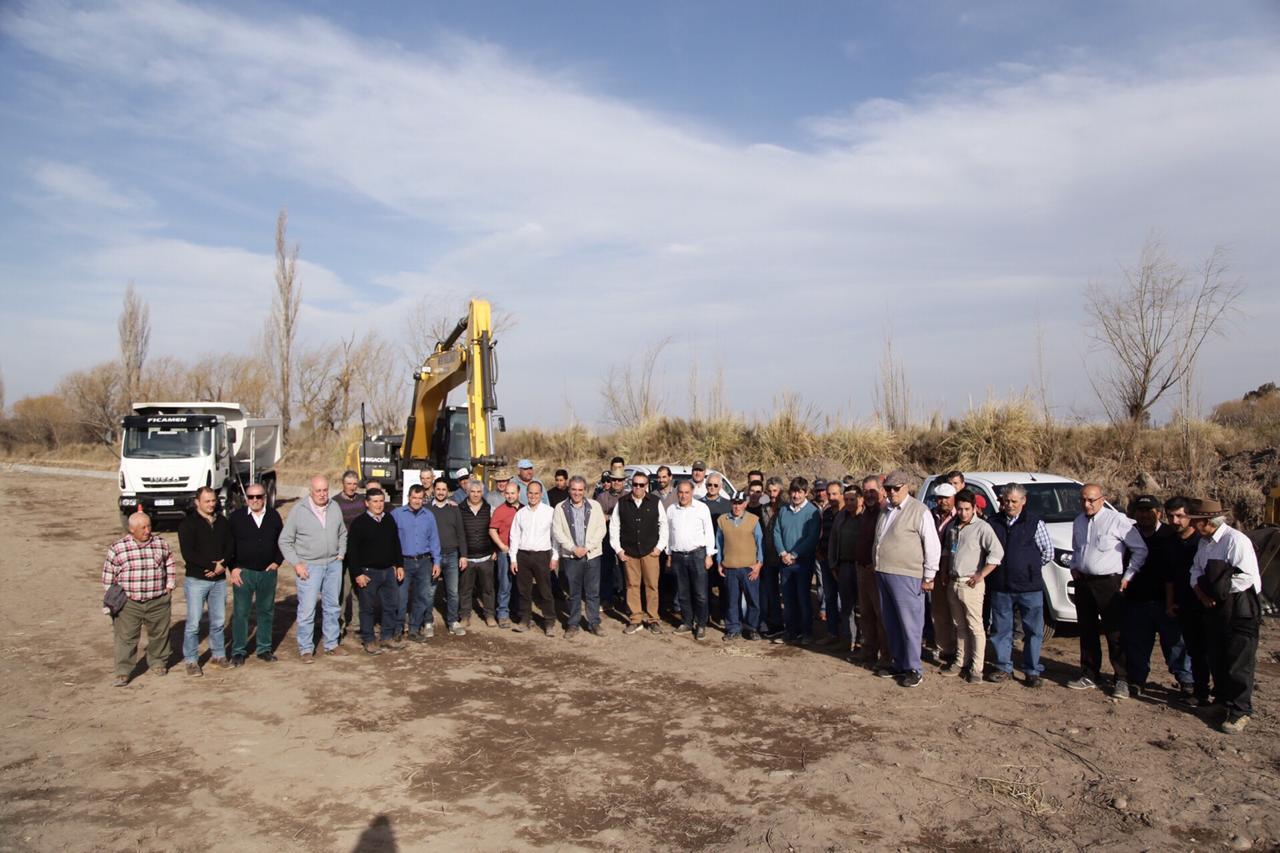 Irrigación realizó una importante obra en San Rafael, que mejora la eficiencia en la conducción del agua