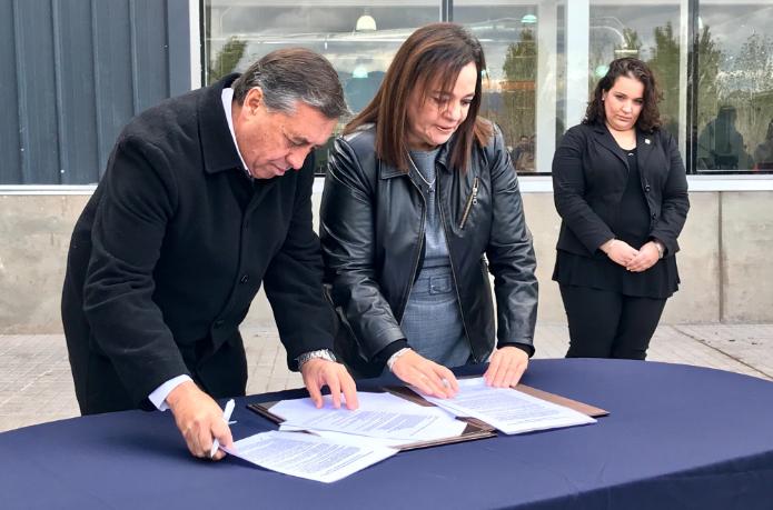 Irrigación y la Facultad de Ciencias Agrarias de la UNCuyo firmaron un convenio