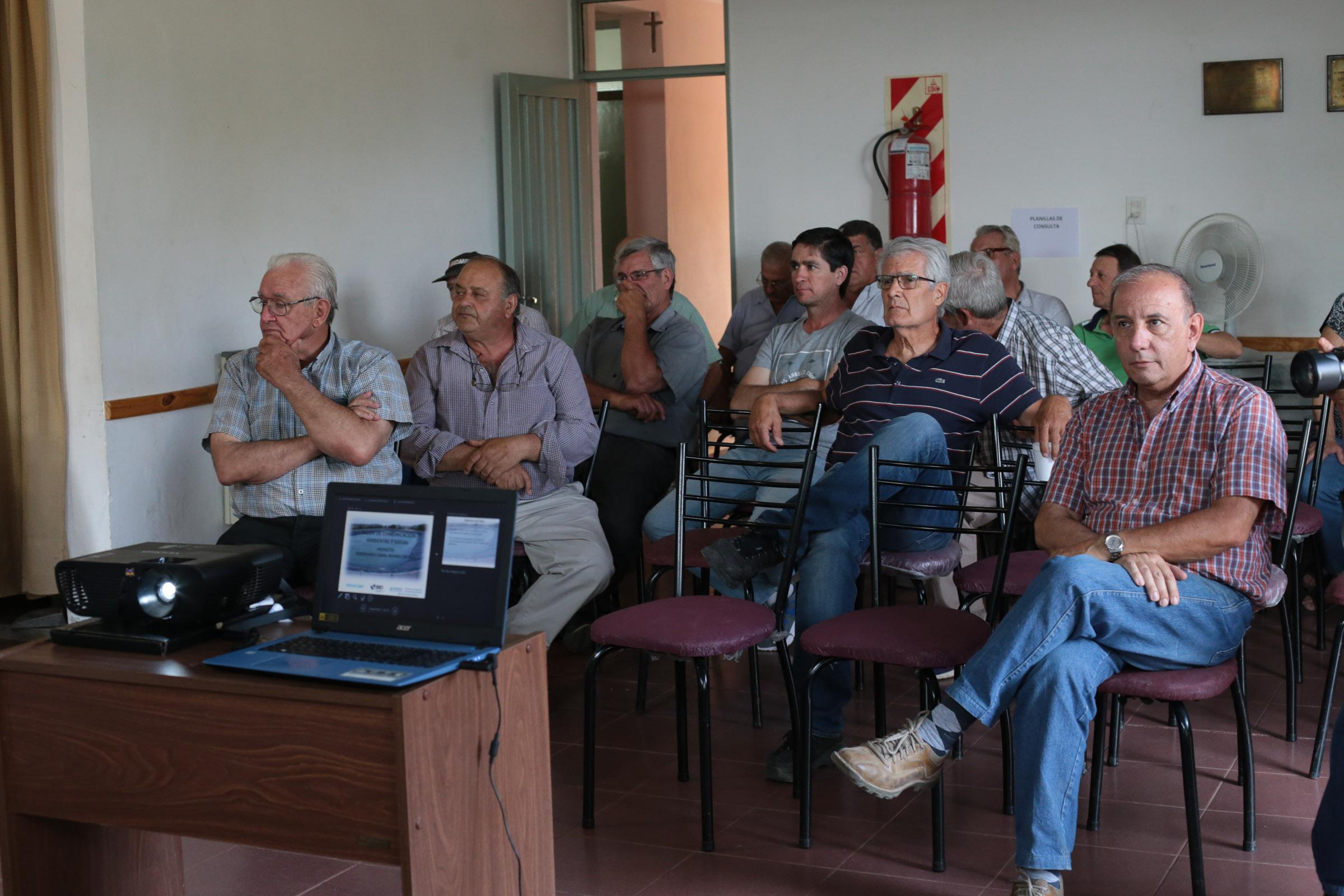 Irrigación presentó el Reservorio Canal Rufino Ortega que se construirá en Maipú