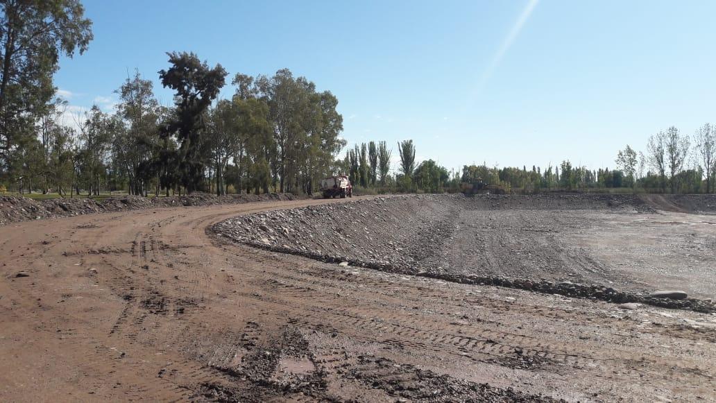 Irrigación sigue con la construcción del reservorio Ortega, en Maipú