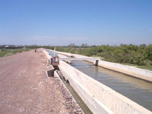 Campaña de concientización de Irrigación y la Municipalidad de Las Heras por el uso de aguas residuales para riego