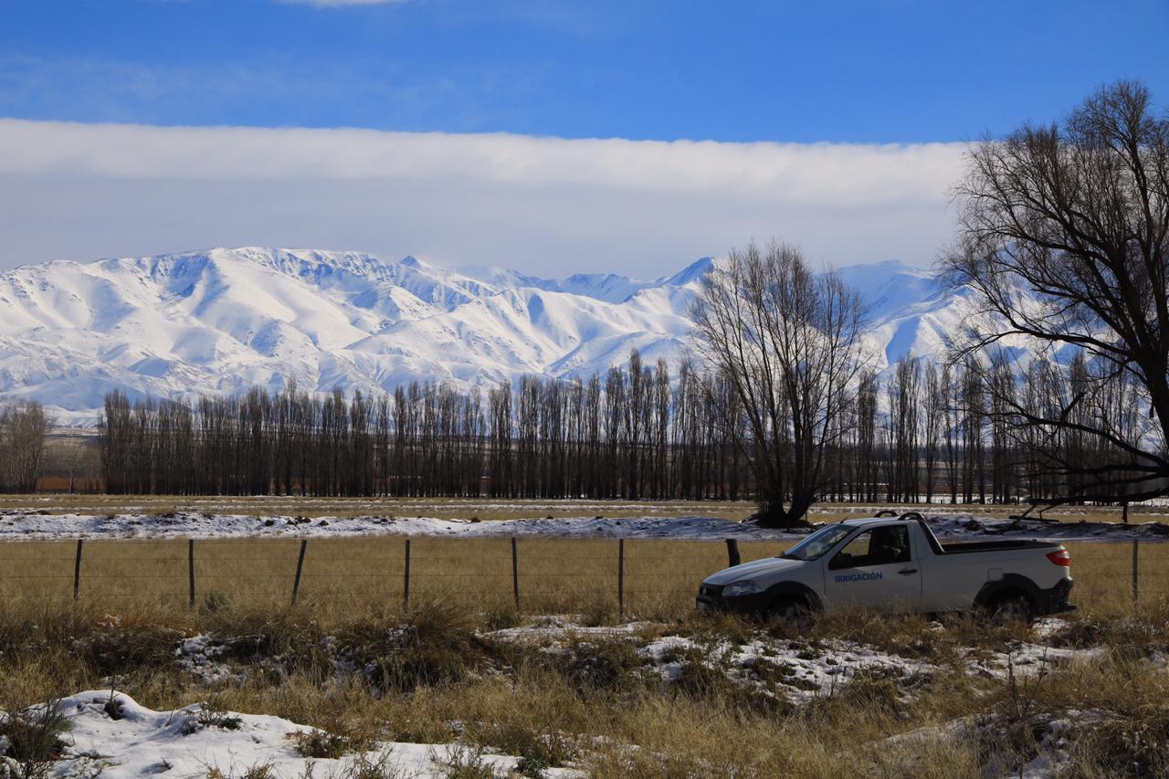 Informe de Irrigación: nieva más que en 2019 y su beneficio se verá desde noviembre