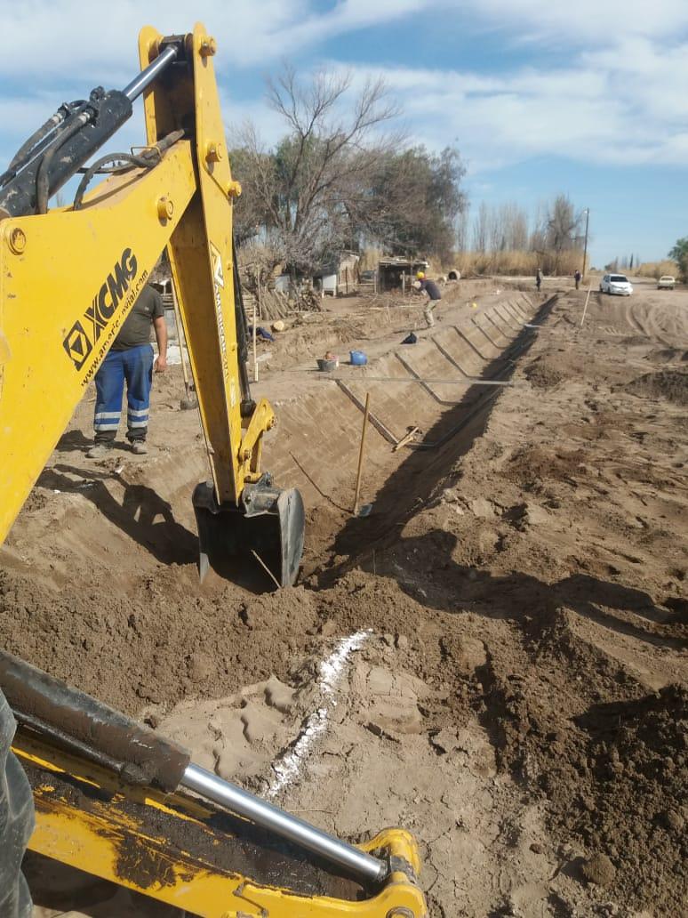 Más obras que mejoran la red hídrica