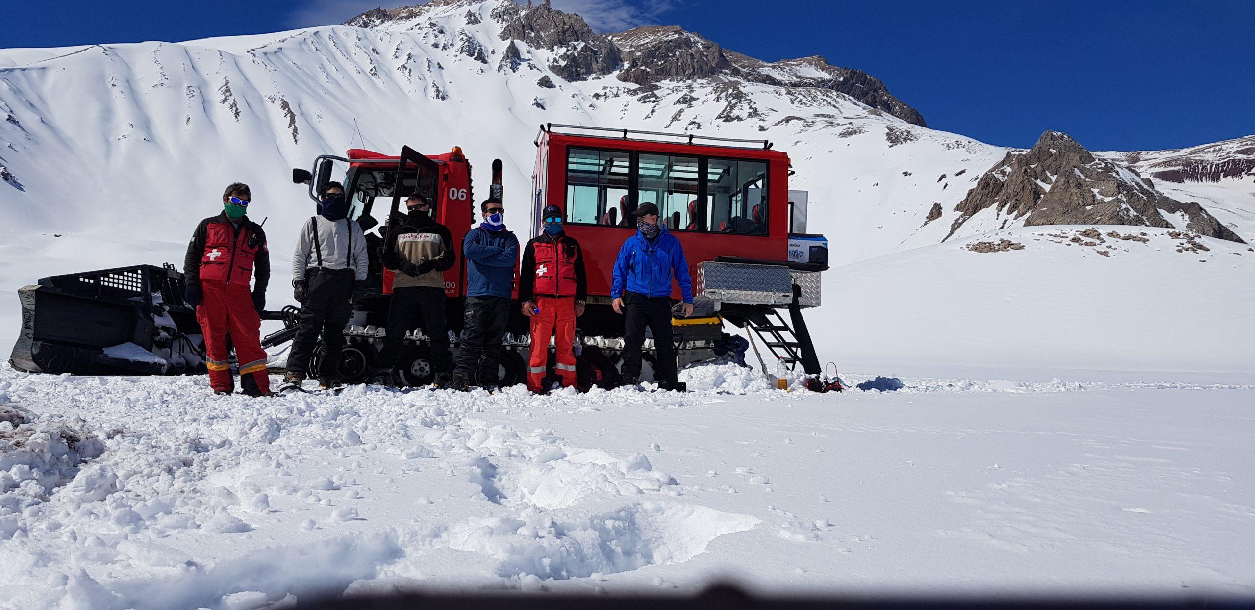 Campaña de invierno de Irrigación: los encargados de evaluar la cantidad de nieve que tenemos