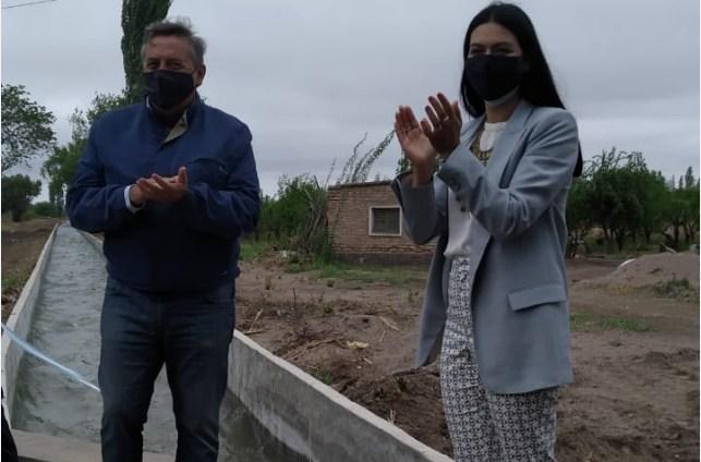 Irrigación hace obras: inició el Mes del Agua con una inauguración en Santa Rosa