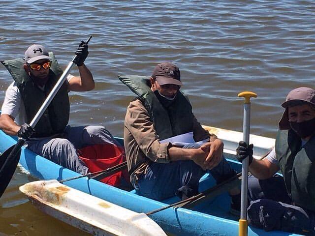 Irrigación continúa monitoreando la Laguna del Viborón