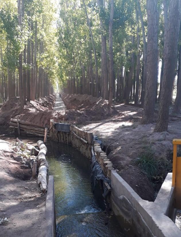 Irrigación ya licitó el 60% de las obras del Plan 2021 para Malargüe, por más de $36 millones