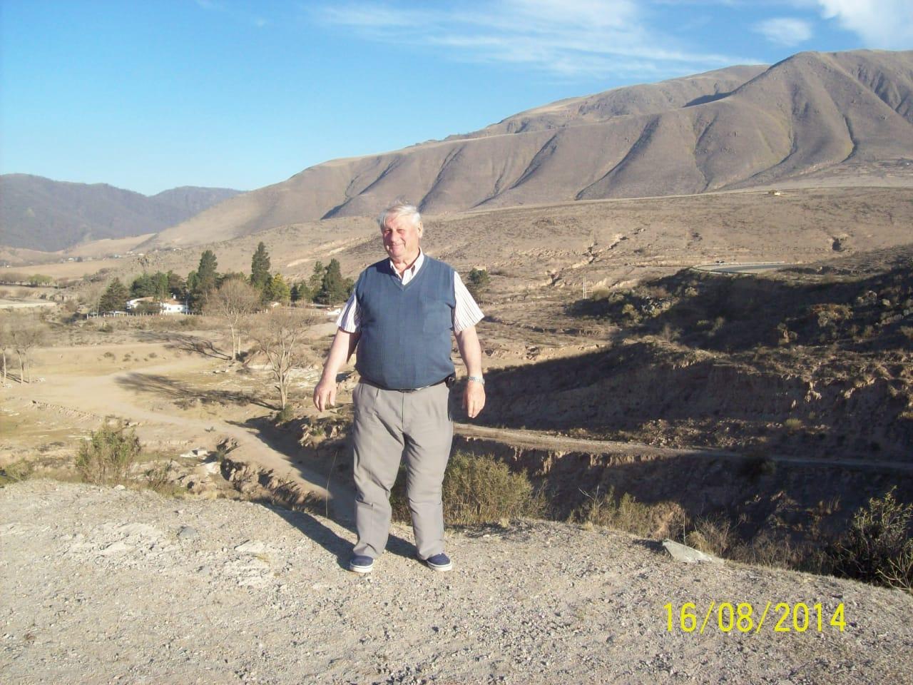 Falleció el Inspector de Cauce Luis Benedetti
