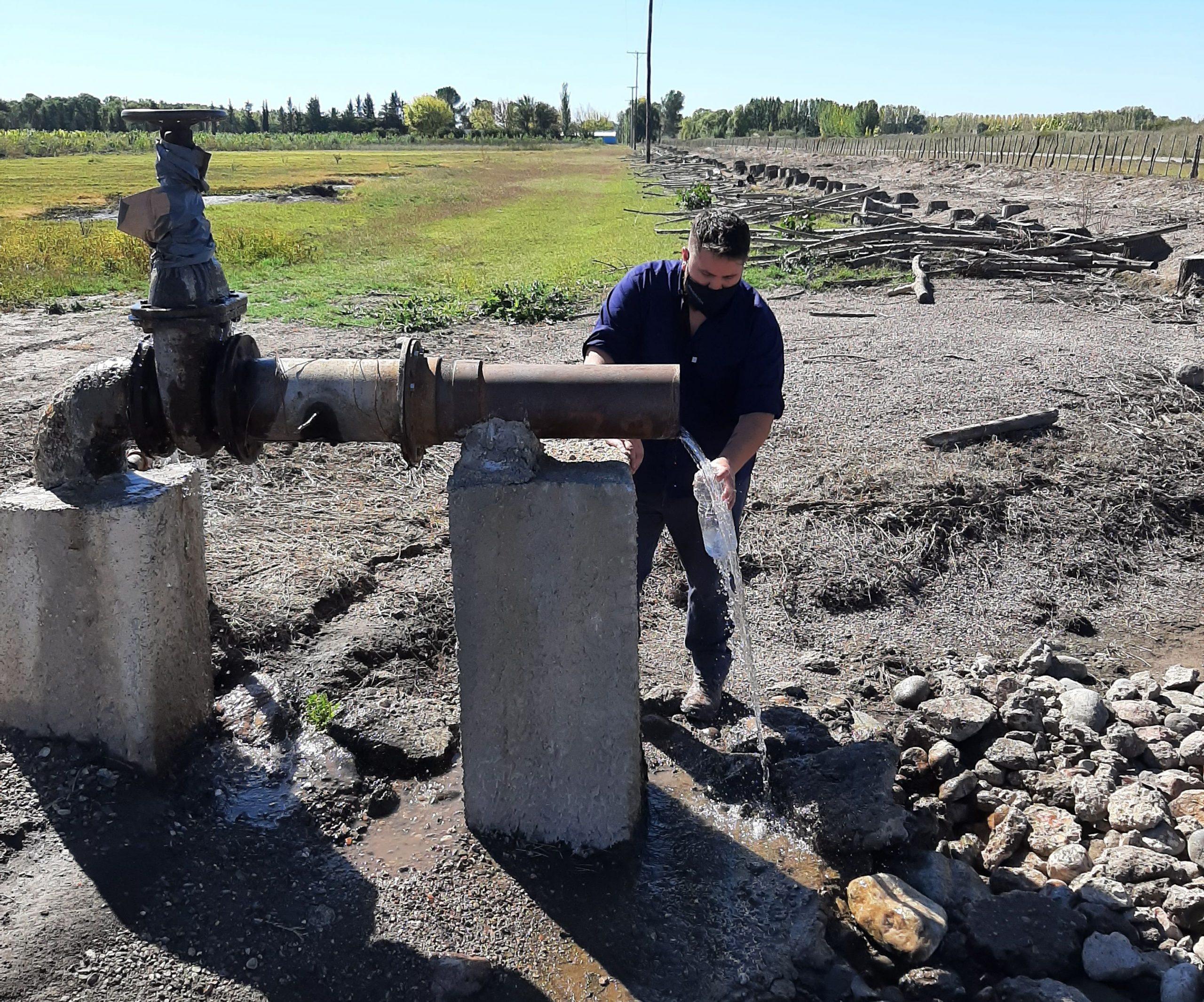 Irrigación hace un estudio profundo de la composición del agua en el Valle de Uco