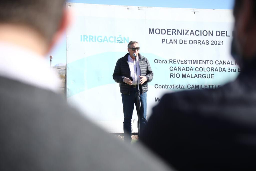 Marinelli, sobre la sequía y la preocupación de entidades agroindustriales de Mendoza
